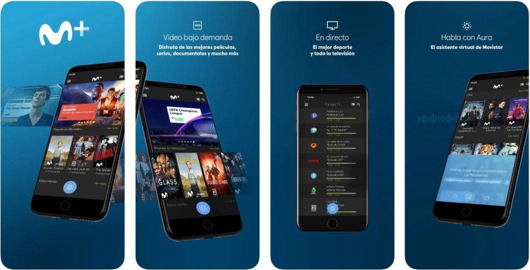 App Movistar+ para ver fútbol