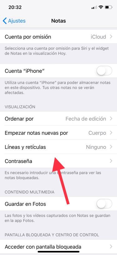 notas del iPhone 1