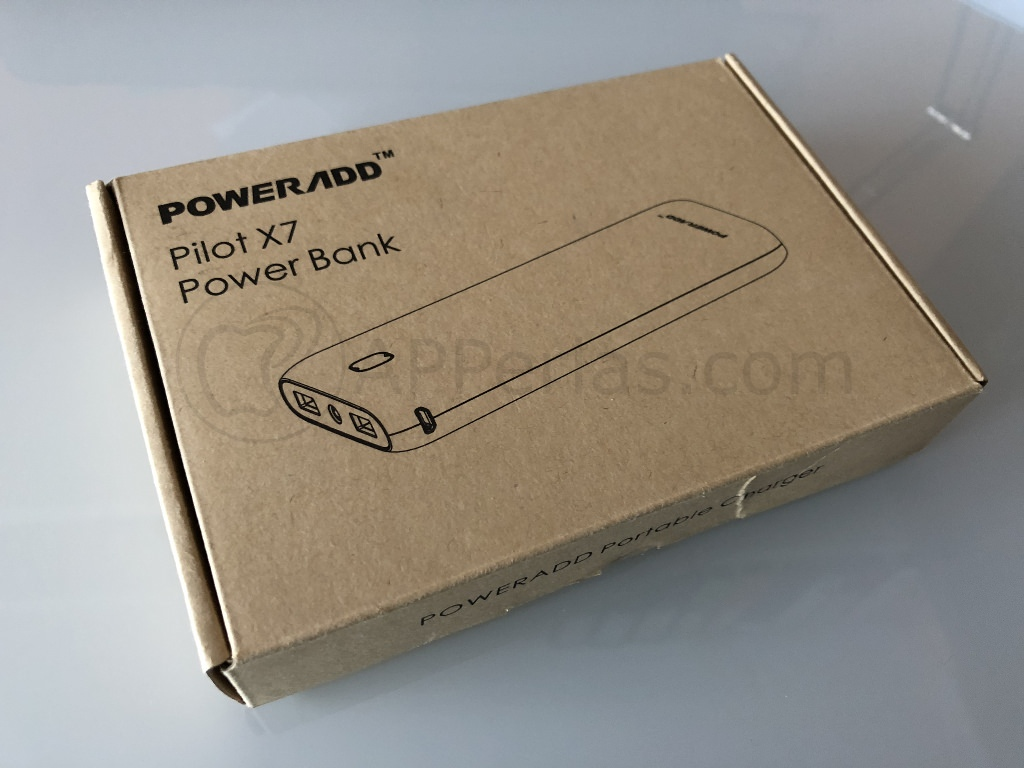 Caja de batería externa Poweradd Pilot X7