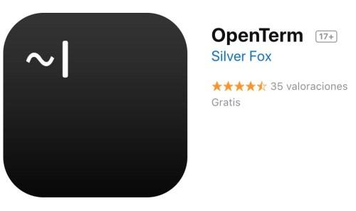 Terminal ahora se llama OpenTerm