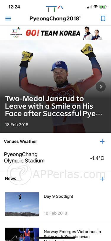 Juegos Olímpicos de PyeongChang 2018 2