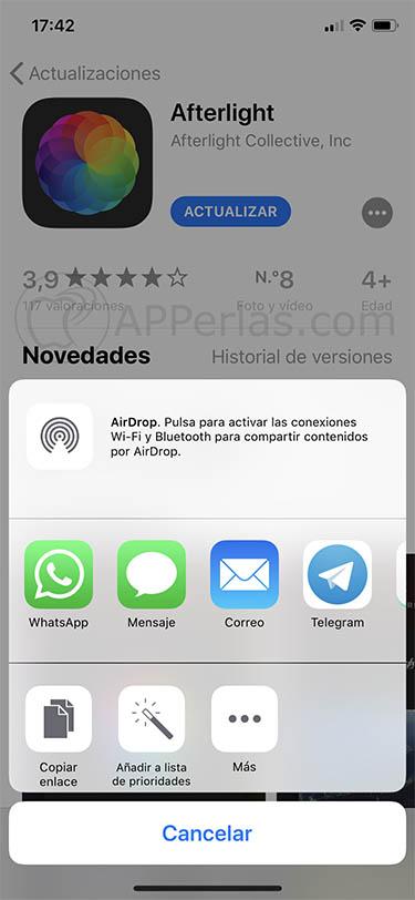 lista de deseos para el App Store 1