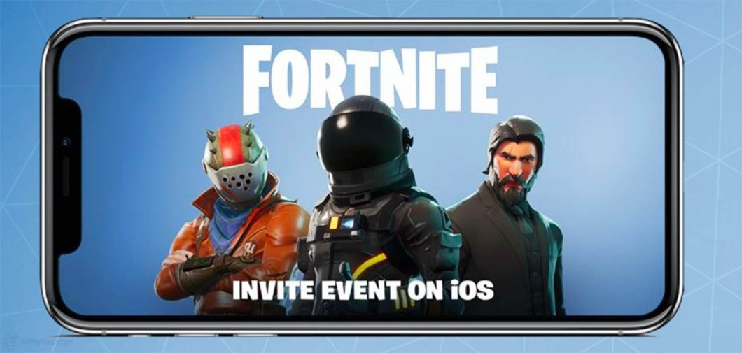 Fortnite en iPhone en iOS 1