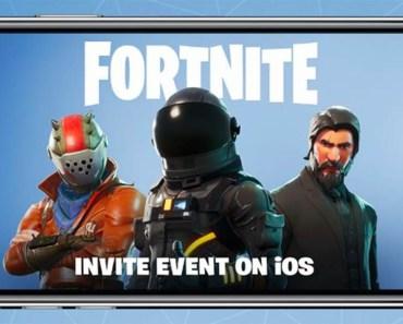 Fortnite en iPhone en iOS 1