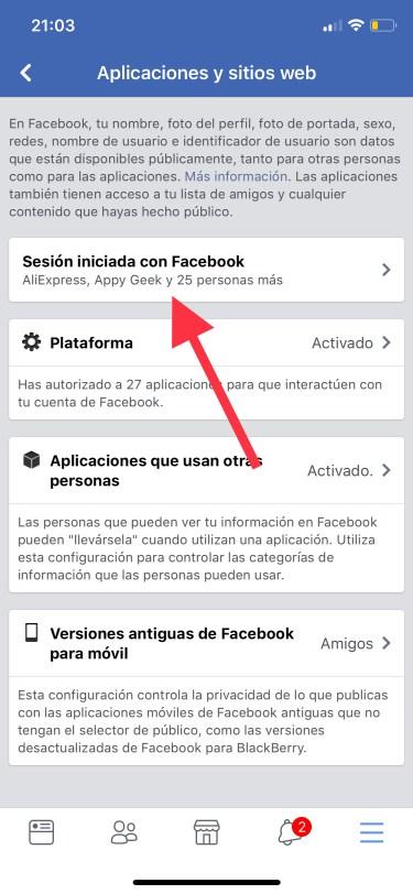 privacidad de tu cuenta de Facebook 4