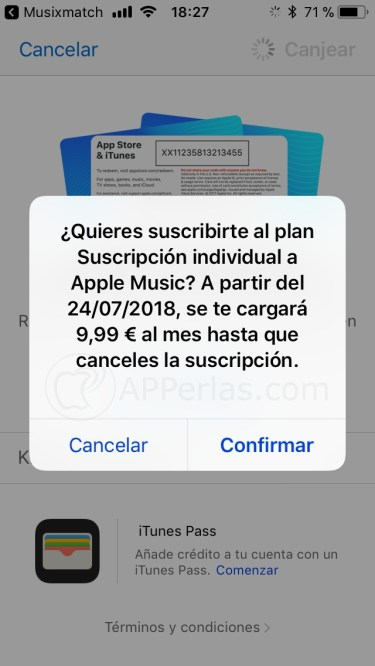 Apple music gratis iphone