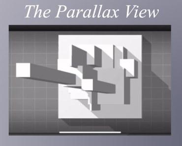 Increíble efecto 3D en la pantalla del iPhone X con una aplicación