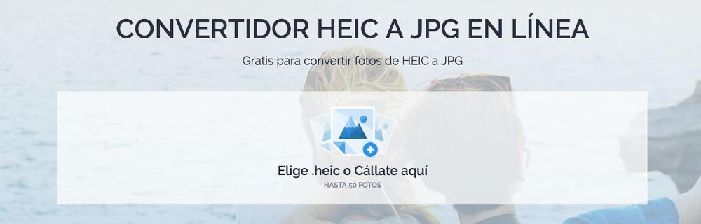 Convertidor de HEIC a JPG