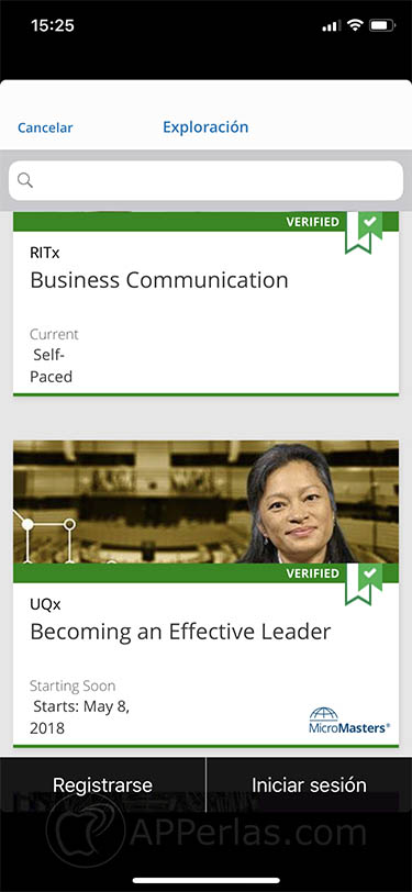 app de cursos en línea 2 EdX