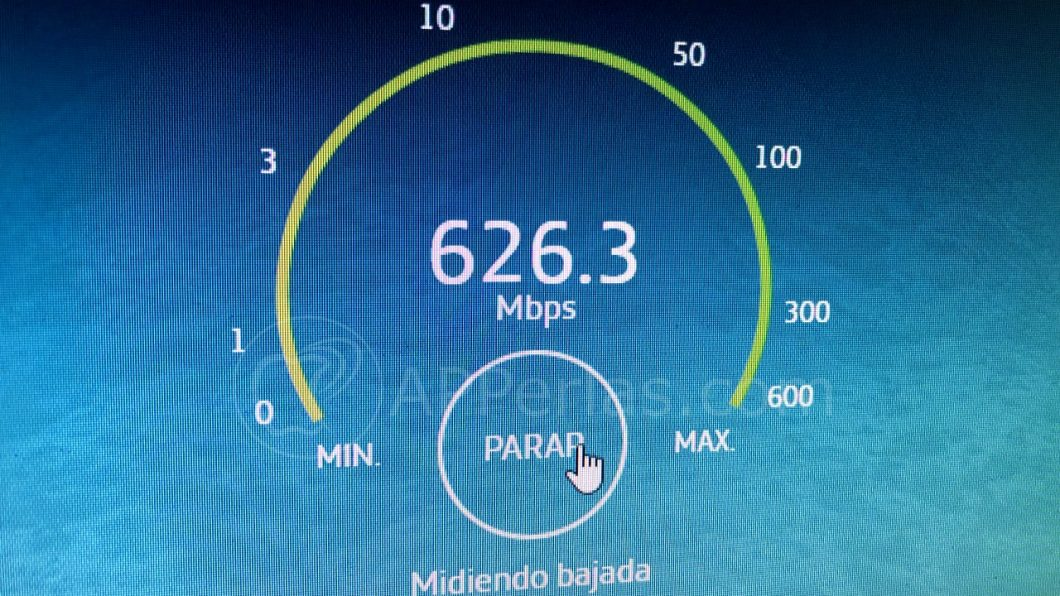 Fibra de Movistar 600 mbps