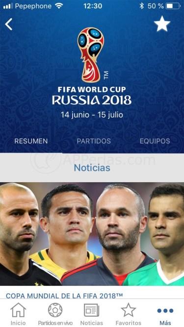 App de la FIFA