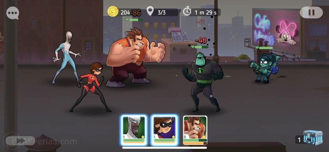 Disney Heroes Battle mode 2