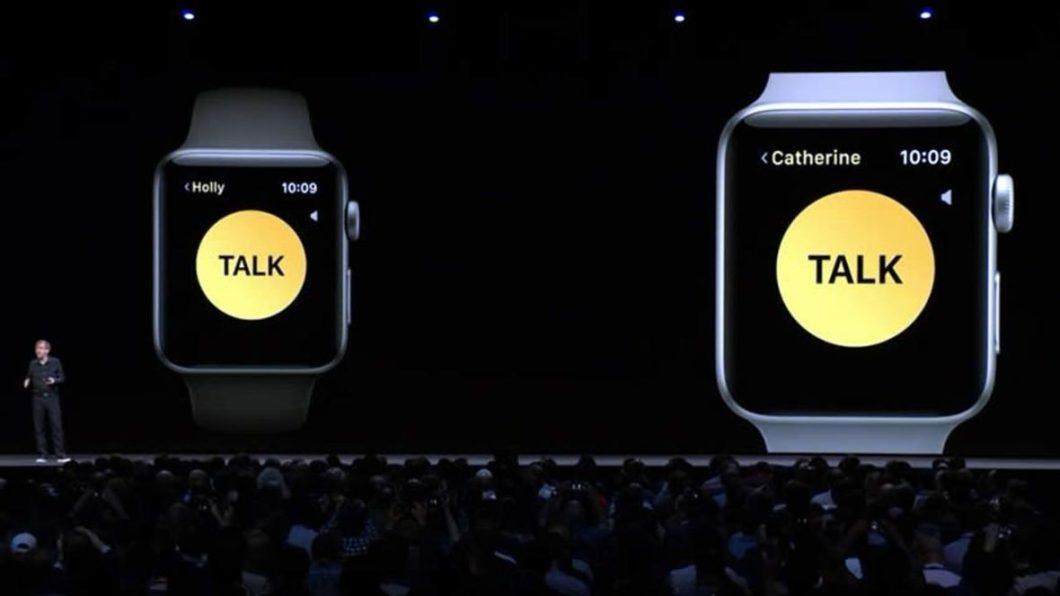 Walkie Talkie con WatchOS 5