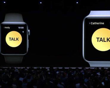 Cómo funciona la app Walkie Talkie del Apple Watch