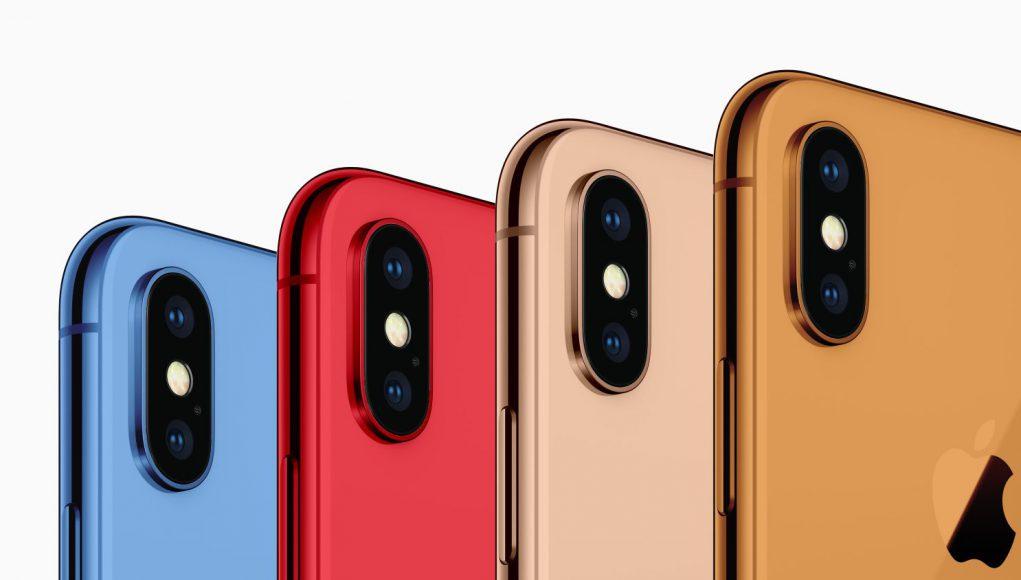 Nuevos iPhone en varios colores