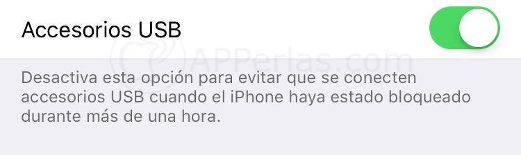 No activar si quieres tener protegido el iPhone