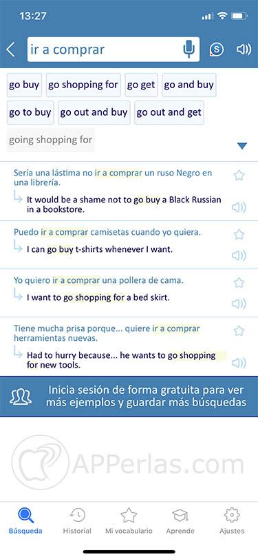 app traductor y diccionario 2