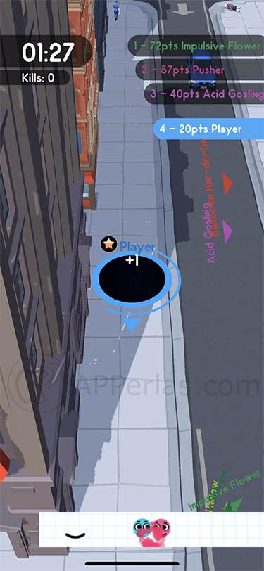 hole.io juego voodoo iphone 2