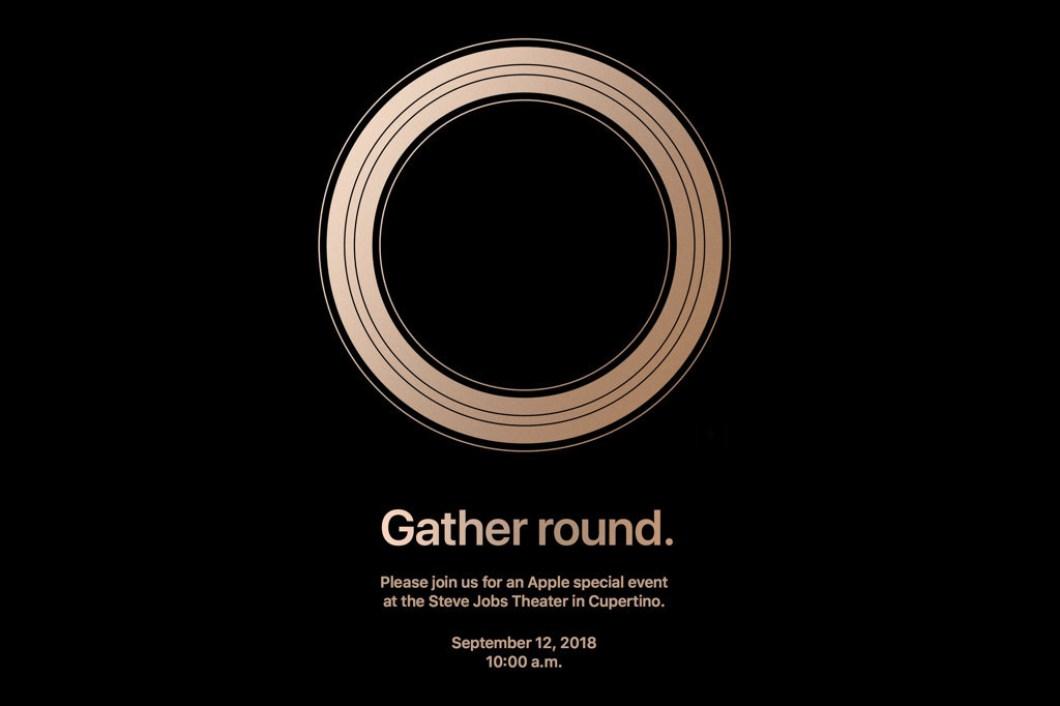 presentación de los iPhone de 2018