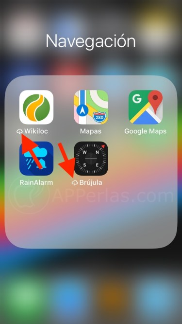 Apps no usadas eliminadas