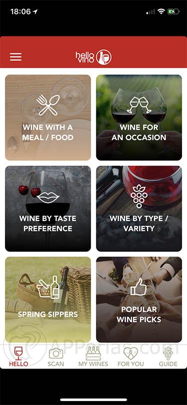 app de vinos hello vino 1