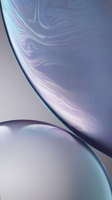 Fondo de pantalla iPhone XR gris