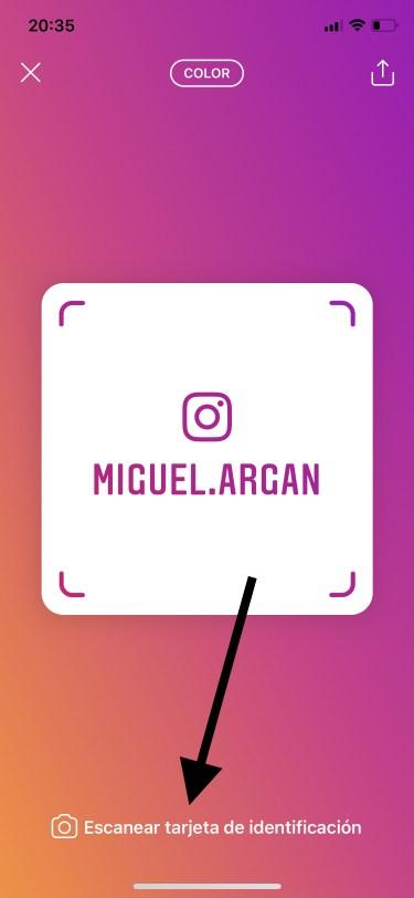 tarjetas de identificación de Instagram 3