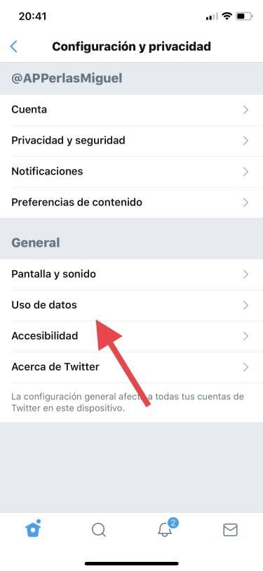 datos móviles en Twitter 1