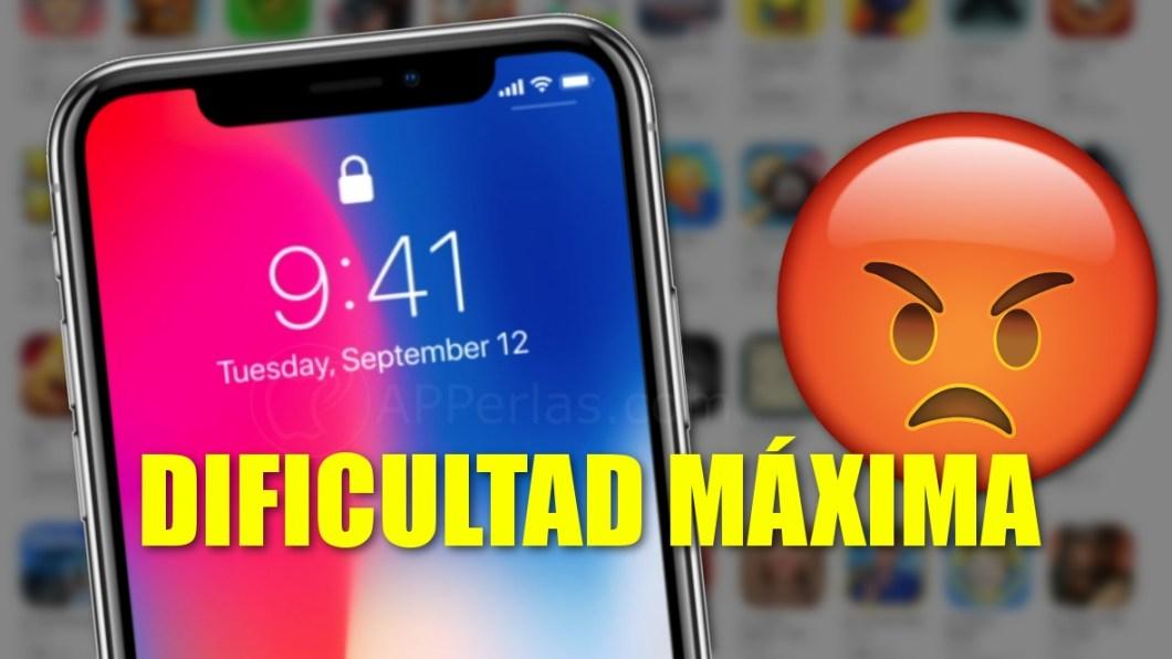 Juegos difíciles para iPhone