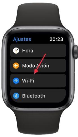 conexión en el Apple Watch 1