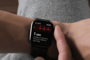 electrocardiograma del Apple Watch 1