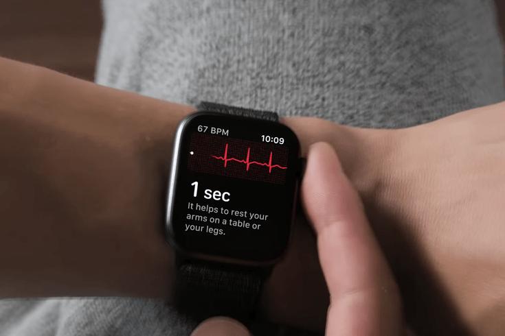electrocardiograma apple watch 4