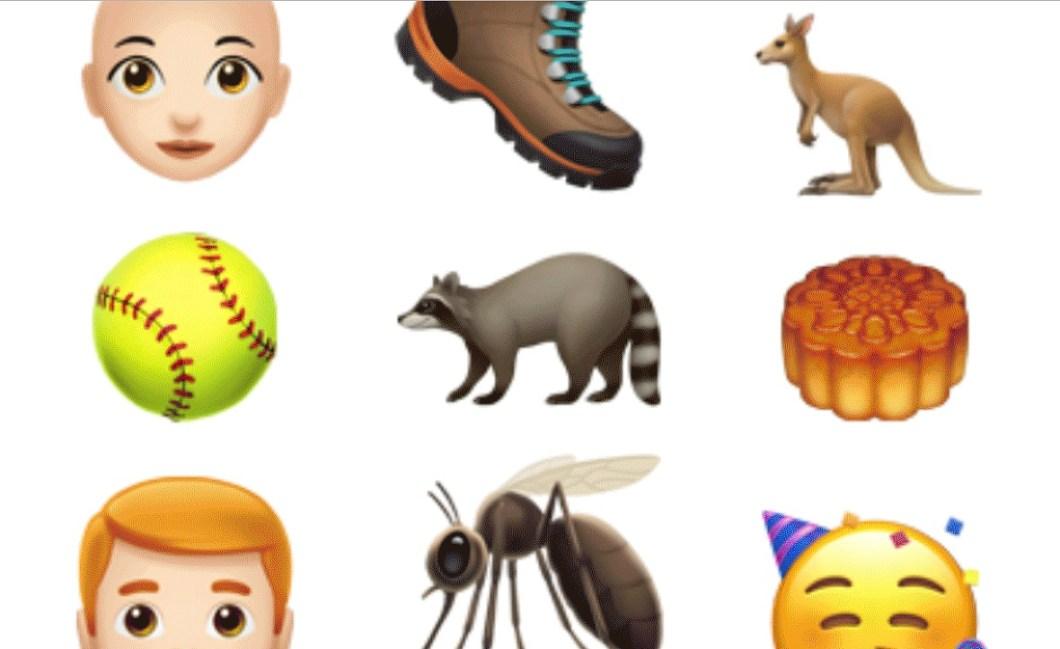 70 nuevos emoji