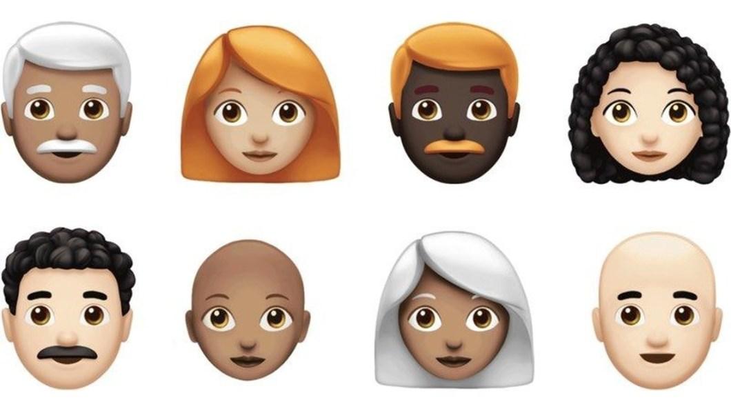 Nuevos emoji iOS 12.1