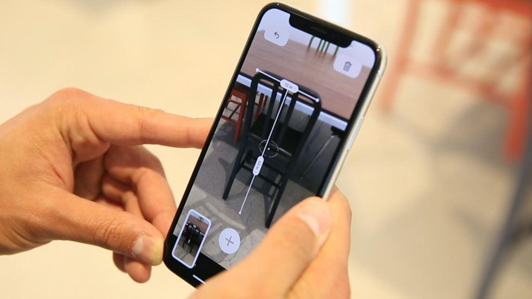 medidas con la cámara del iPhone