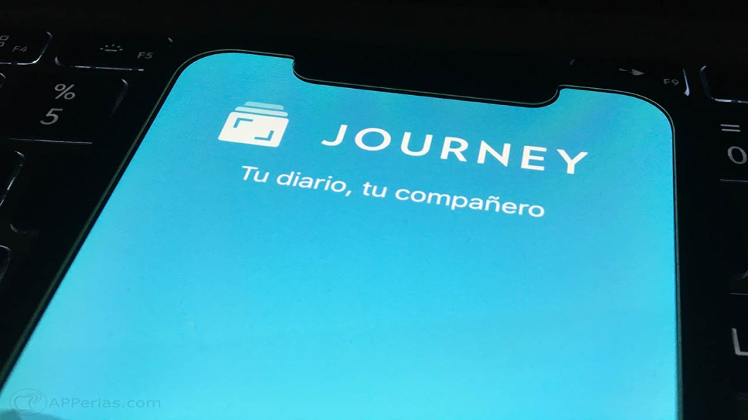 diario en tu iphone journey