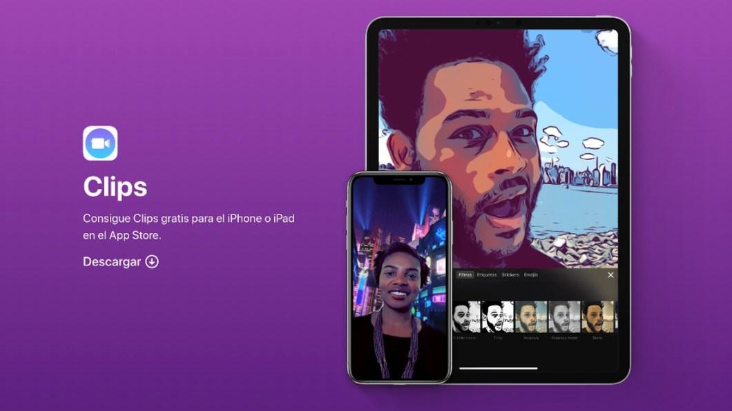 App CLIPS de Apple