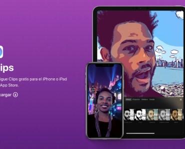 Apple actualiza su app Clips con interesantes novedades