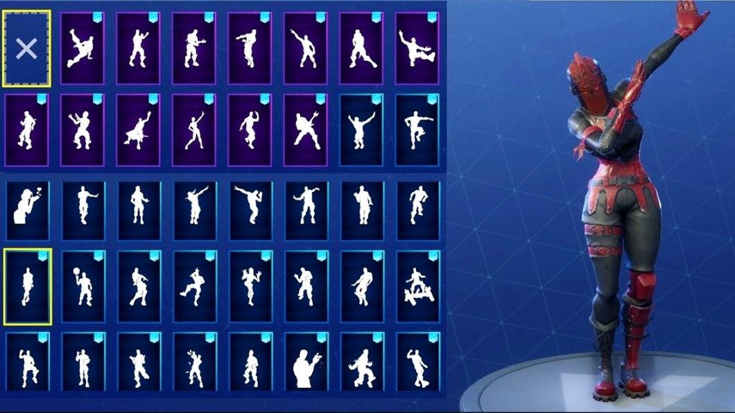 App con todos los bailes de Fortnite