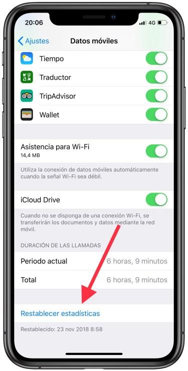 controlar los datos móviles 2