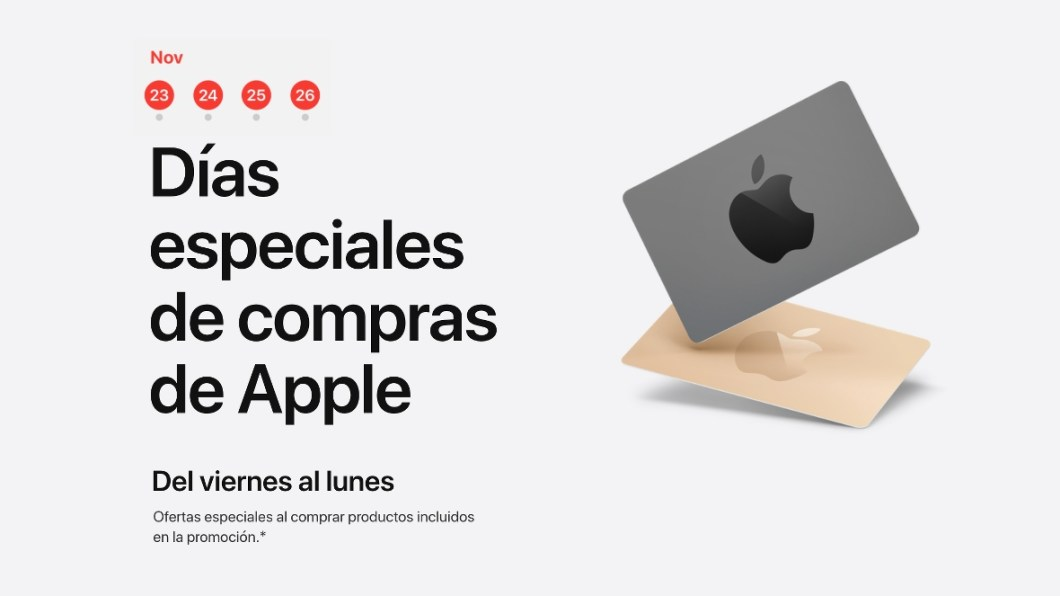 Ofertas de Apple para el Black Friday 2018