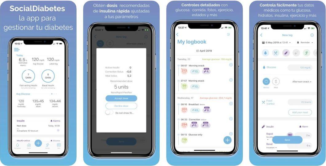 Social diabetes app