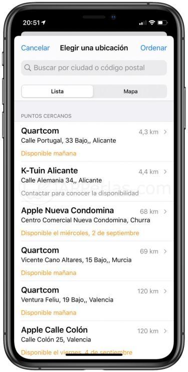Puntos oficiales donde reparar el iPhone