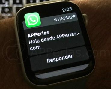 Cómo recibir las notificaciones de WhatsApp en el Apple Watch