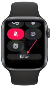 centro de control en el Apple Watch 1