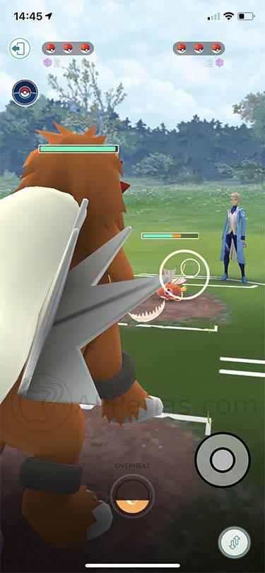 batallas entre entrenadores pokemon go 2