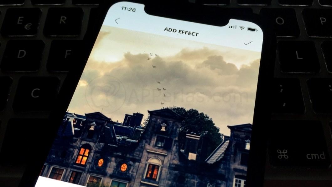 Añade gran variedad de efectos a fotos del iPhone