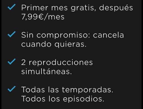 Precio mensualidad HBO