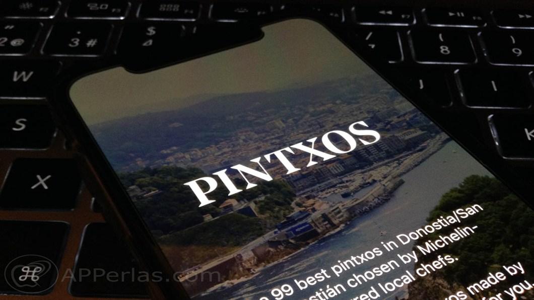 Pintxos app donosti ios 1