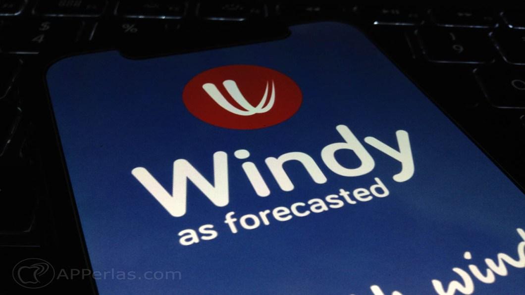 aplicación del tiempo para iOS windy 1